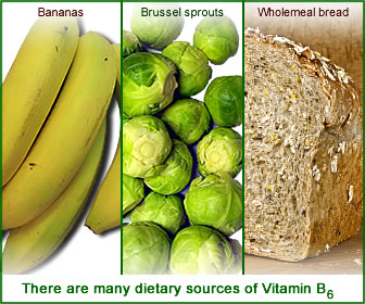 There are many dietary sources of vitamin B6