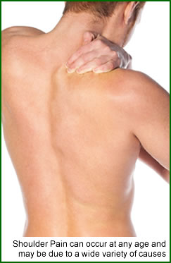 Shoulder pain and shoulder problems generally are not unusual and can occure for a wide variety of reasons.