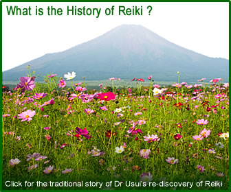 The traditional story of the re-discovery of Reiki. (History of Reiki)