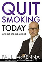 Quit Smoking Today without Gaining Weight (Book & CD) (Paperback) - by Paul McKenna (Author)