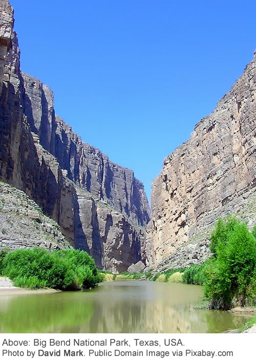 Big Bend National Park, Texas - Photo by David Mark