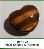 Tigers Eye (Heart-Shaped & Polished)