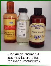 Carrier Oils for Massage