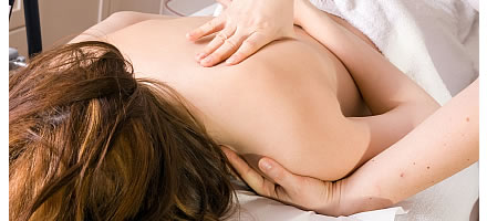 Modern massage for therapy e.g. sports massage or for pleasure and relaxation