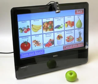 Touchscreens to support nutrition for the elderly