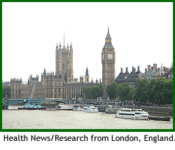 Health News from London, England.