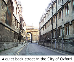 Image of Oxford, England.