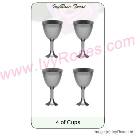 4 of Cups Tarot Card